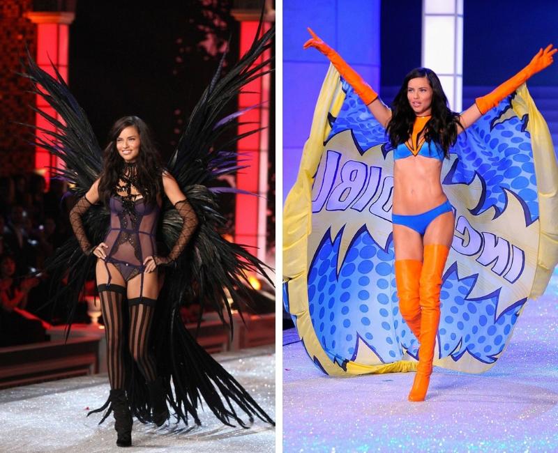Victoria's Secret 2018 siêu mẫu Adriana Lima