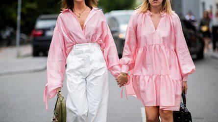 Trang phục màu hồng millennial - tông màu