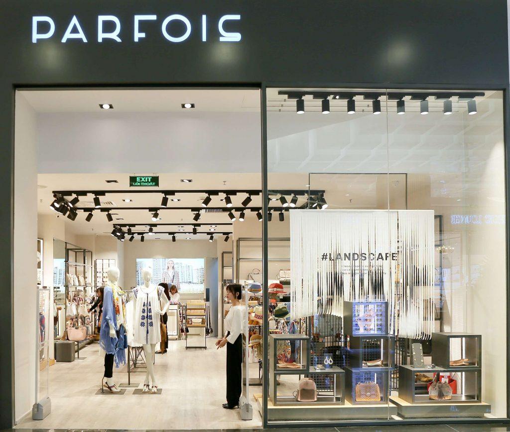cửa hàng phụ kiện PARFOIS đầu tiên tại Landmark 81 10