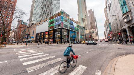 Chicago - Những tòa nhà và ánh điện lập lòe