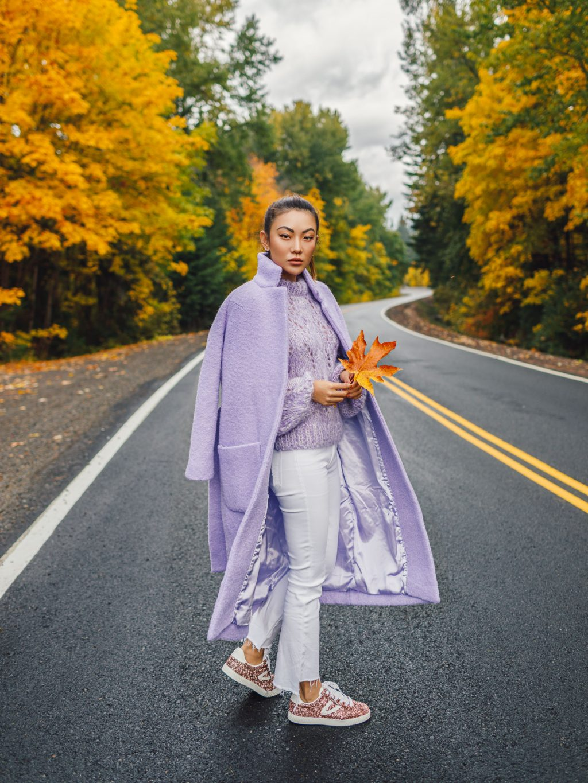 elle việt nam trang phục tím lavender 36
