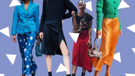 Chân váy lụa - chiếc váy đa năng không thể thiếu trong tủ đồ của bạn