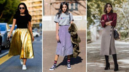 Bạn biết gì về 3 kiểu chân váy midi đang thống trị thời trang đường phố?
