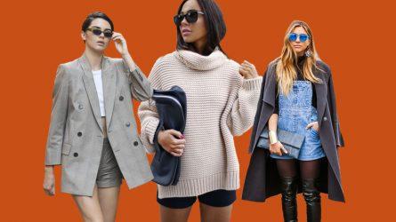 6 cách mặc quần shorts trong mùa Đông được các cô gái xứ lạnh yêu thích