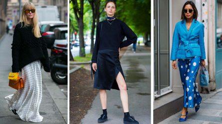 Chân váy lụa - Thiết kế đa năng không thể thiếu trong tủ đồ của bạn