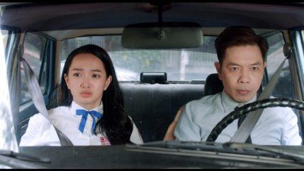 Cười ra nước mắt với Thái Hòa phiên bản Kaity Nguyễn trong Hồn Papa Da Con Gái