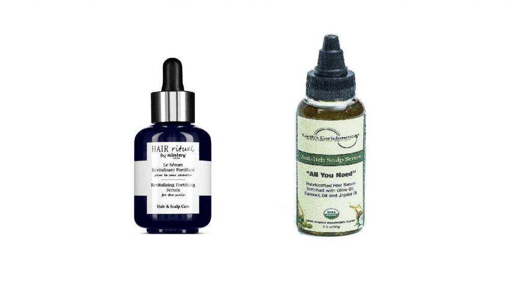 serum cho da đầu khô