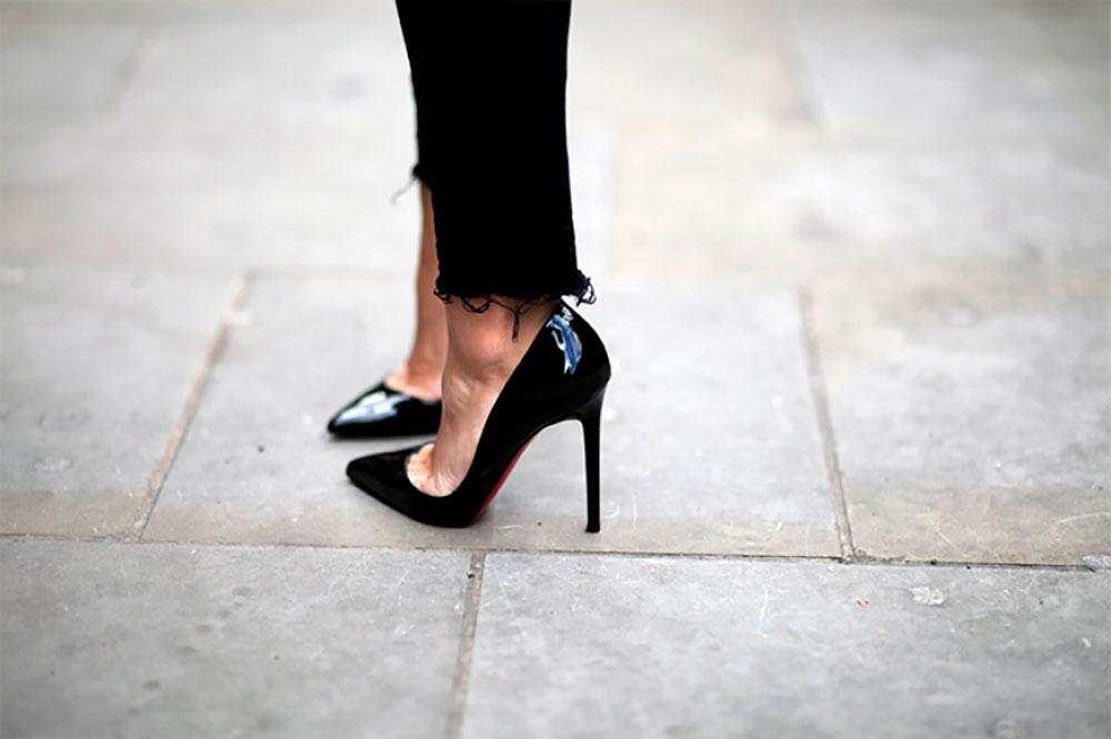 kiểu giày cao gót 5