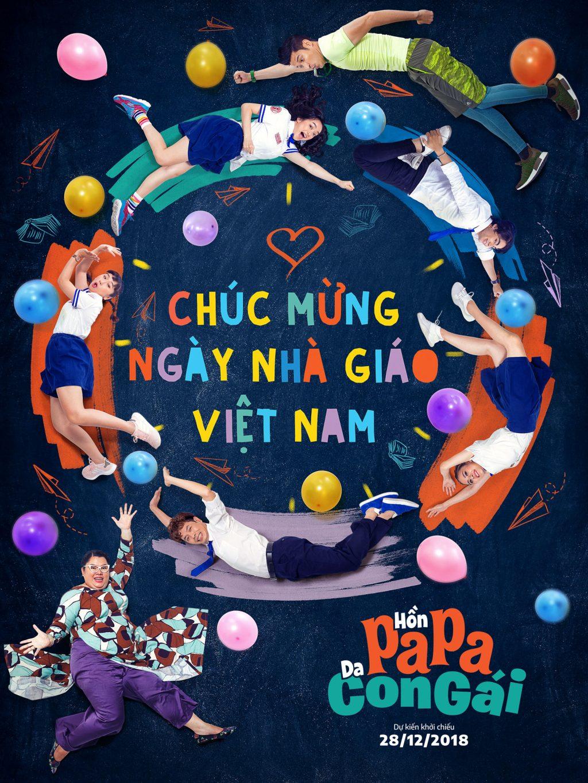 Hồn Papa Da Con Gái tiếp tục tung bộ ảnh đặc biệt mừng ngày 20/11 2