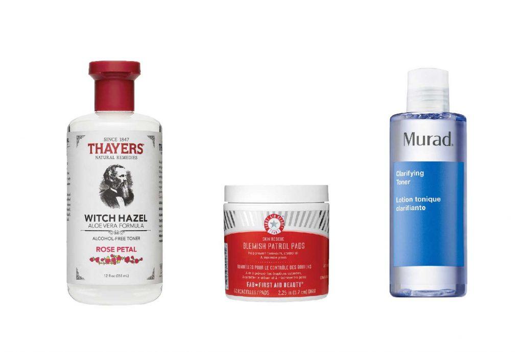 Một số sản phẩm witch hazel gợi ý
