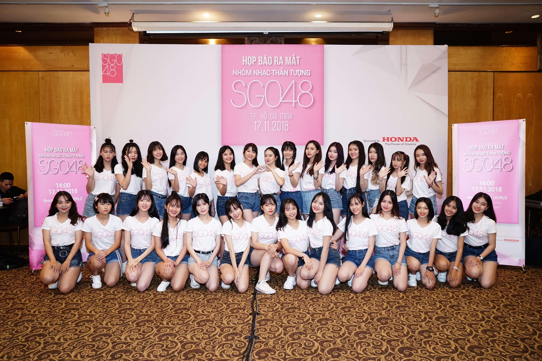 nhóm nhạc thần tượng nữ SGO48 5