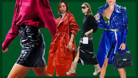 Bí quyết chinh phục xu hướng thời trang nhựa của dàn fashionista thế giới