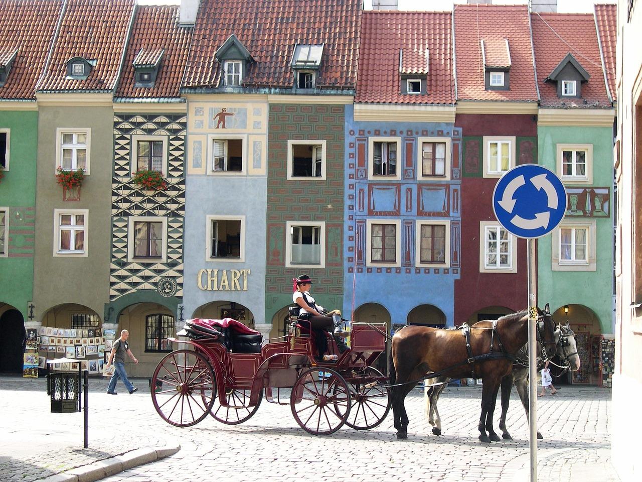 khu phố rực rỡ Poznan 1