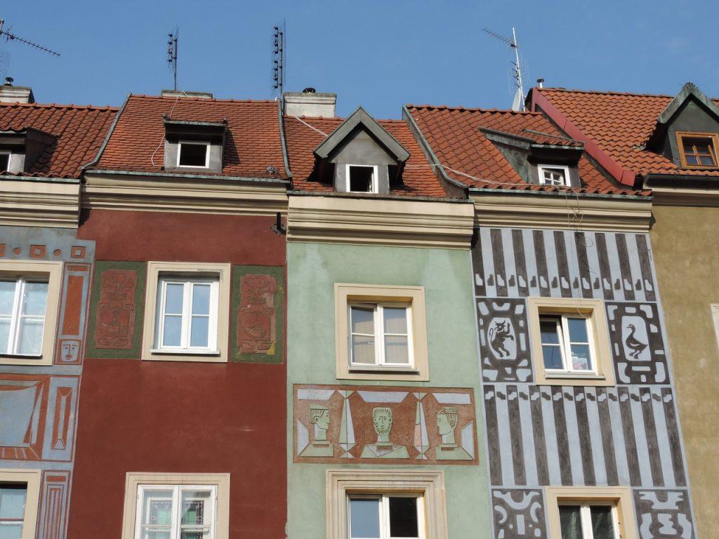 khu phố rực rỡ Poznan