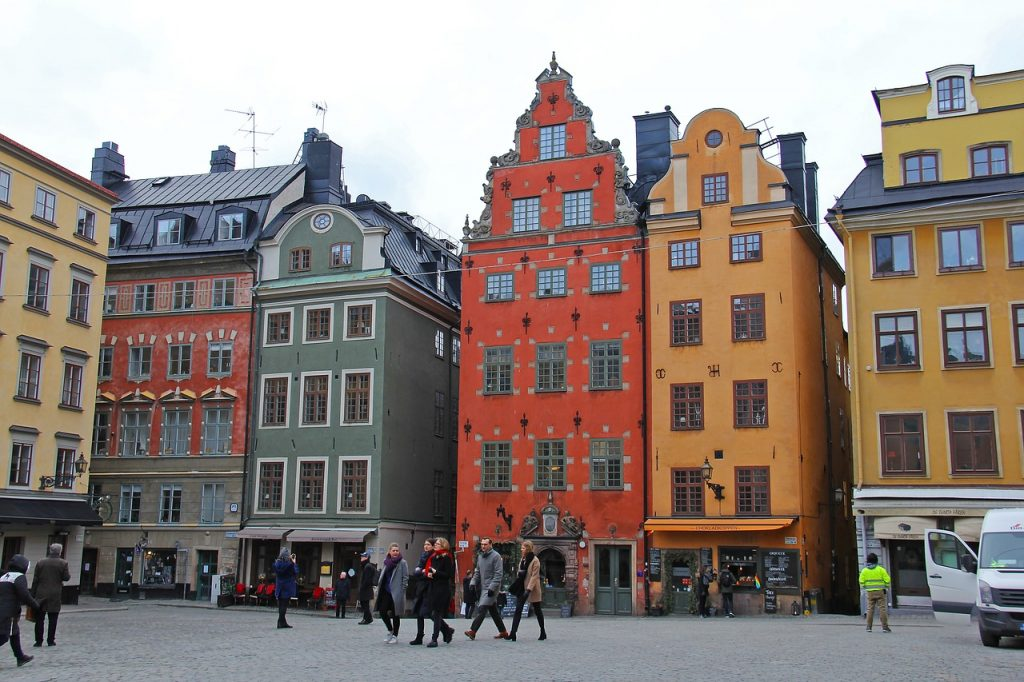 khu phố rực rỡ Stortorget