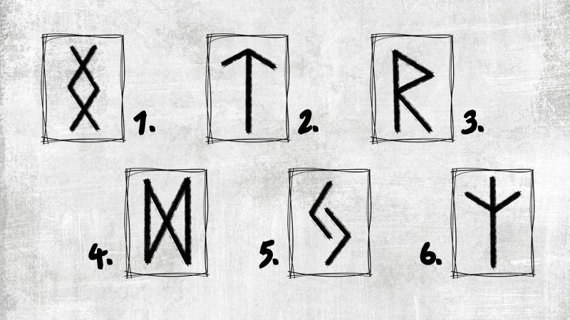 trắc nghiệm chữ rune 0