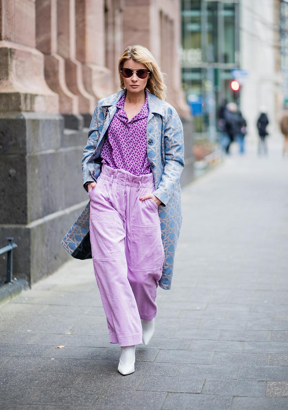 elle việt nam trang phục tím lavender 22
