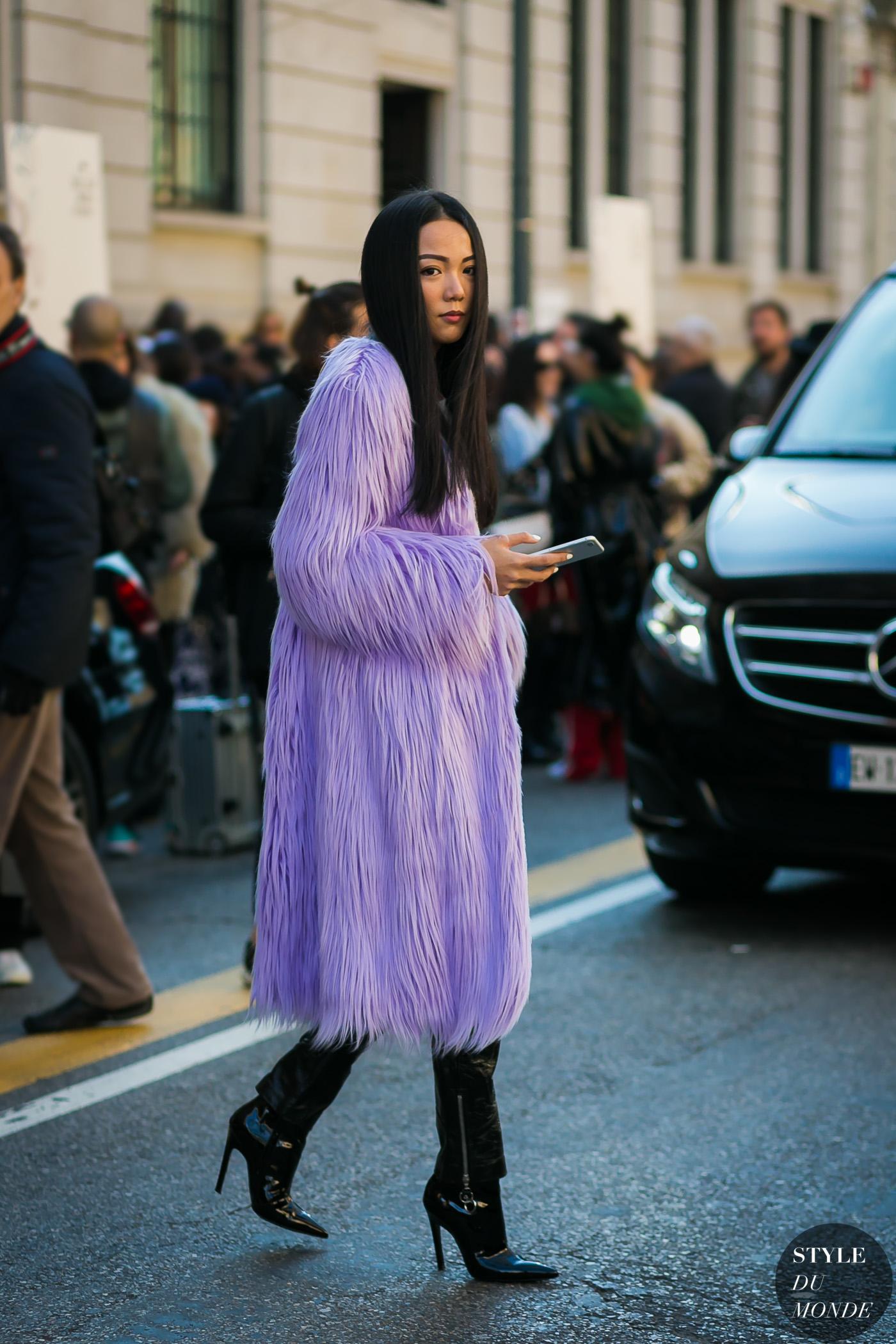 elle việt nam trang phục tím lavender 3