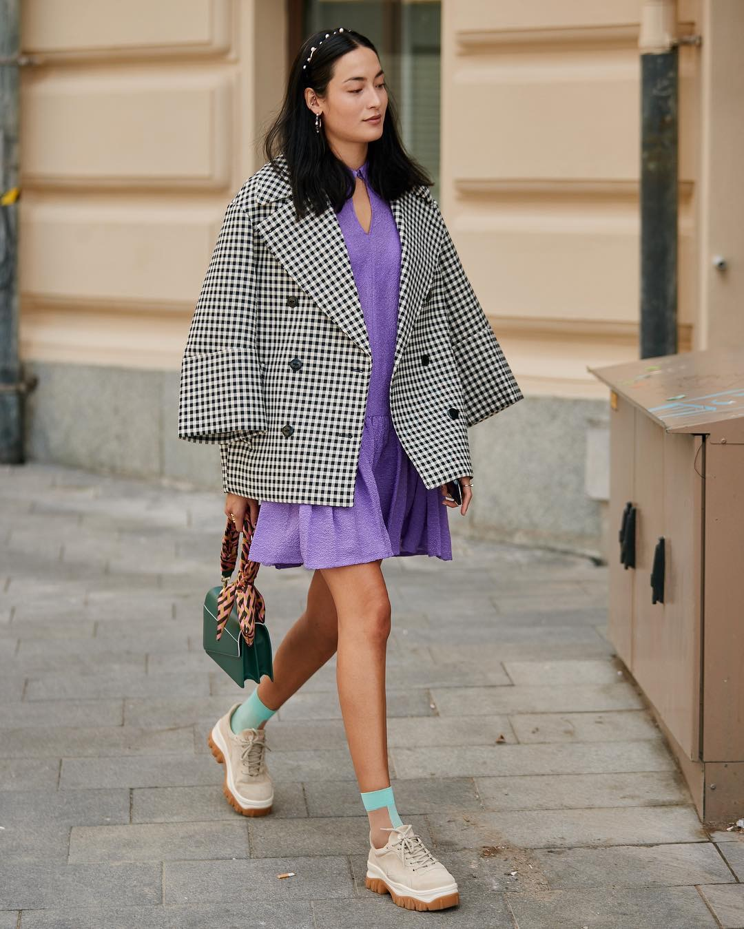 elle việt nam trang phục tím lavender 30
