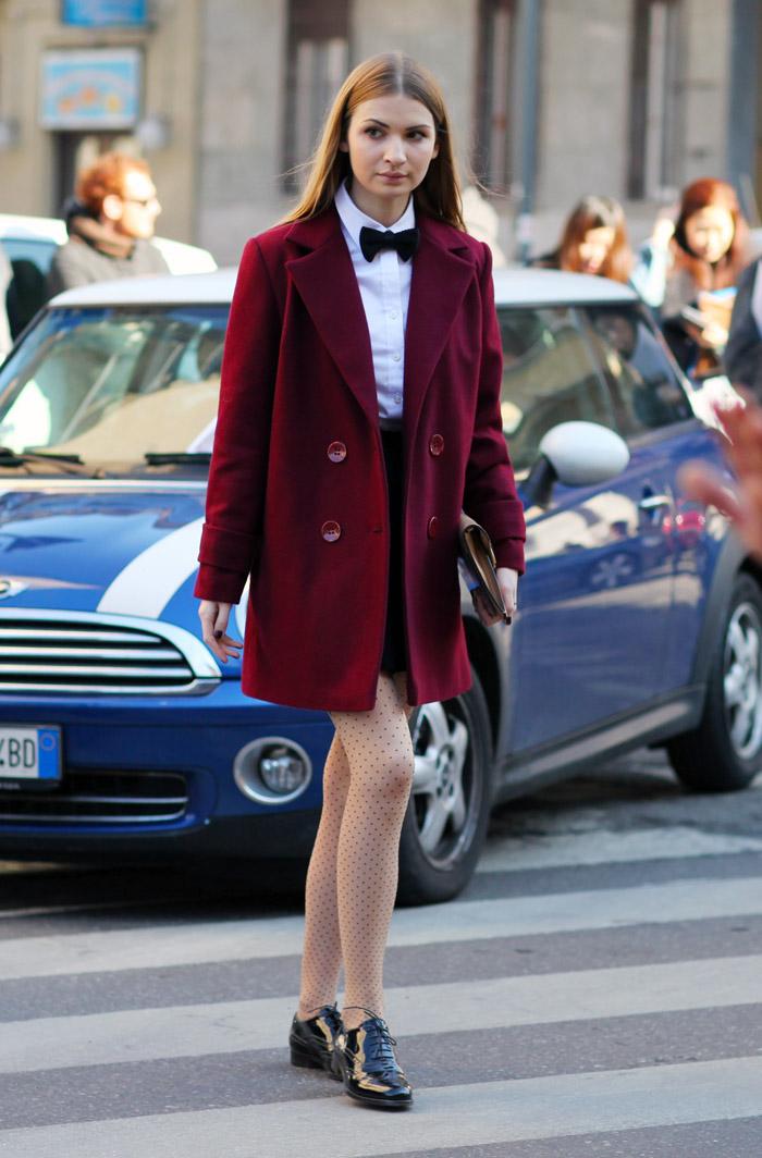 trang phục dự tiệc đỏ burgundy cho mùa lễ hội 28