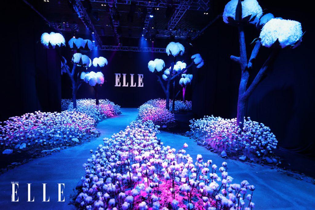 sân khấu ELLE Fashion Show thay đổi qua các năm 2