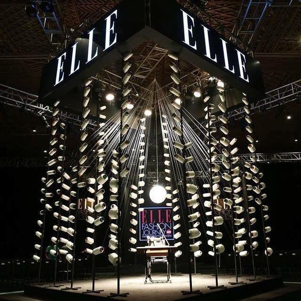 sân khấu ELLE Fashion Show thay đổi qua các năm 9