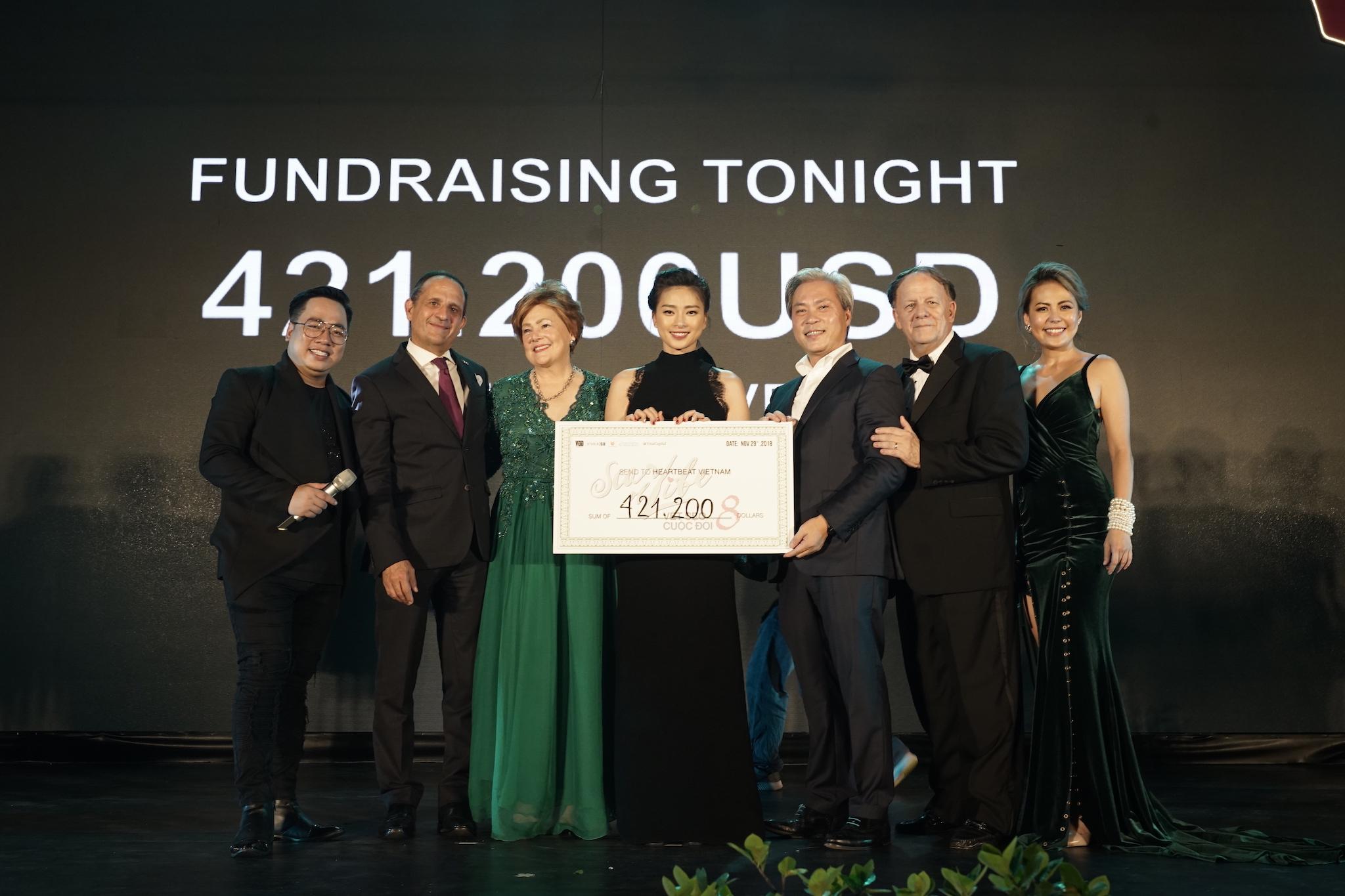 Đêm trình diễn nghệ thuật - đấu giá gây quỹ chương trình Vết Sẹo Cuộc Đời 8