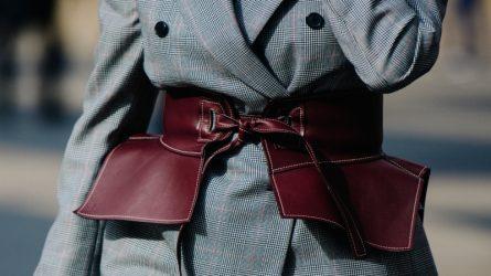 Kiểu thắt lưng nào đang được fashionista thế giới diện nhiều nhất?