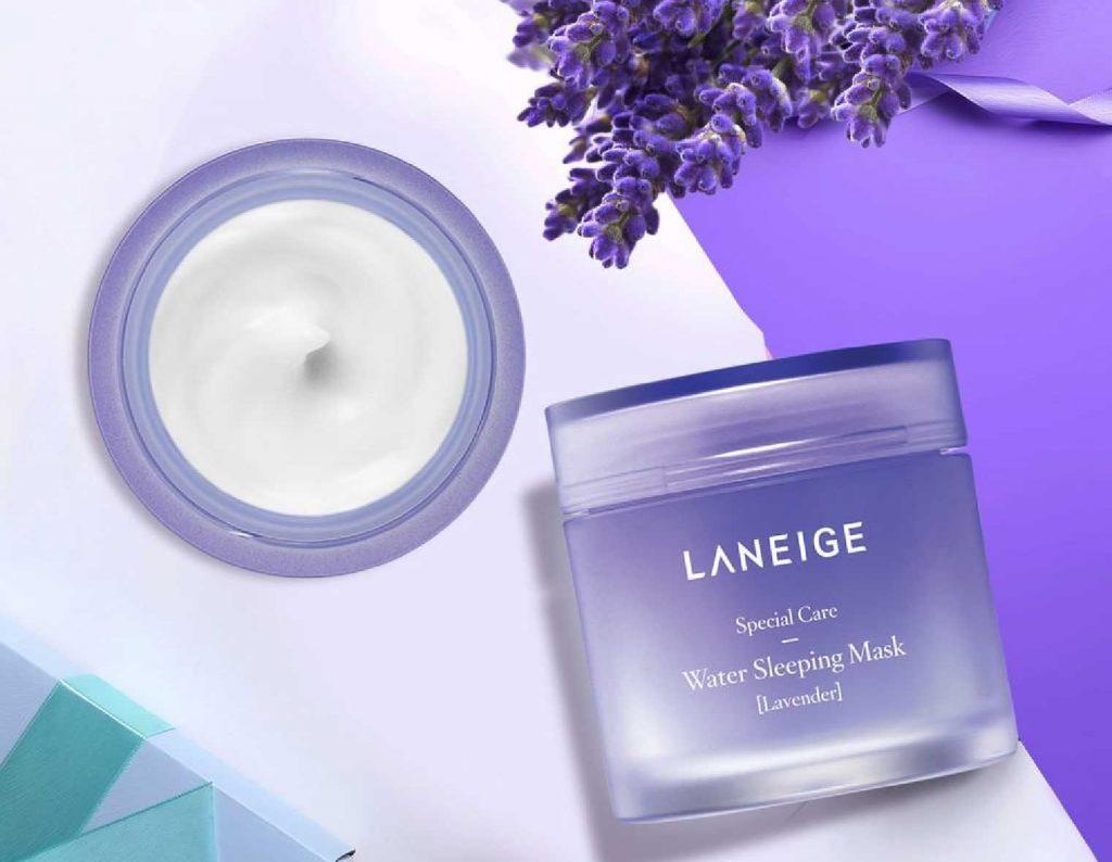 sản phẩm dưỡng da từ hoa Laneige