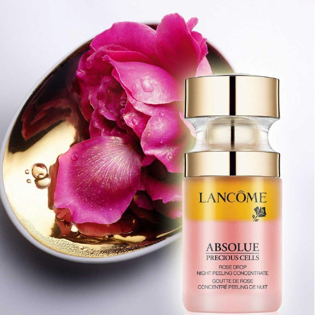 sản phẩm dưỡng da từ hoa - lancôme