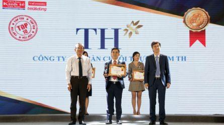 """Thương hiệu TH true MILK nhận giải thưởng Tin và Dùng 2018 cho """"Thương hiệu có tâm"""""""
