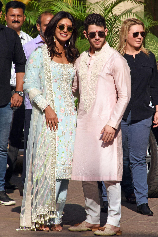 thời trang cưới của Priyanka Chopra 2