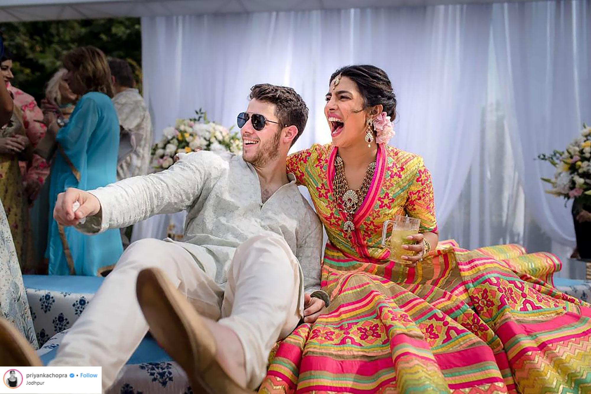 thời trang cưới của Priyanka Chopra 3
