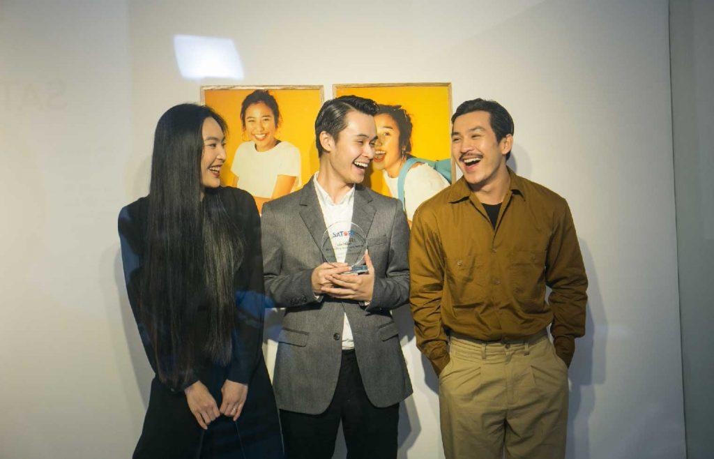 Những vị khách mời tham dự triển lãm ra mắt Nước Tinh Khiết Satori