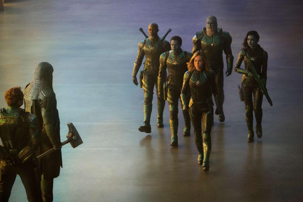 Captain Marvel trailer mới 10