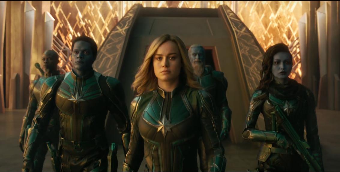 Captain Marvel trailer mới 11