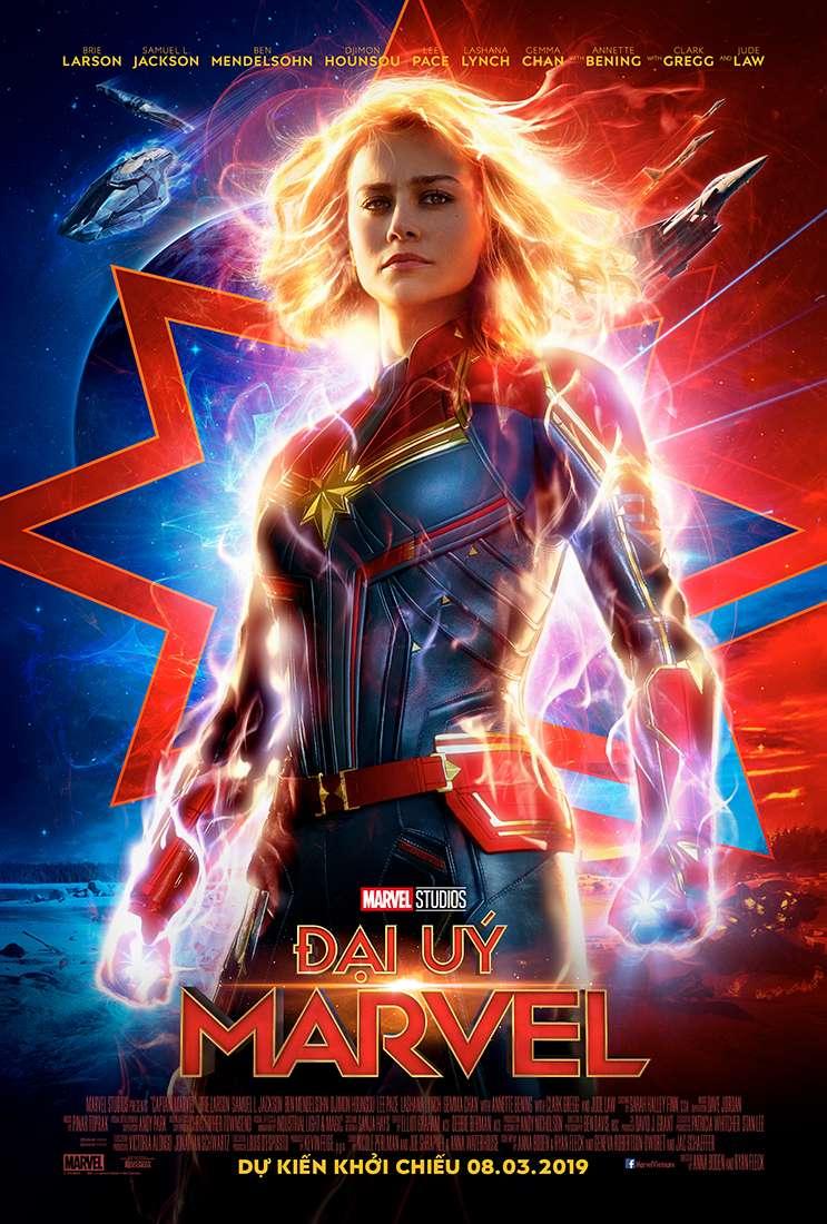Captain Marvel trailer mới