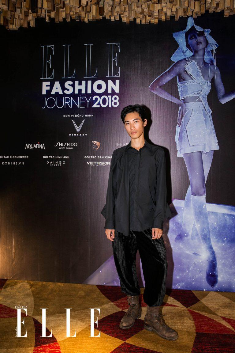 nhà thiết kế tom trandt elle fashion journey 2018
