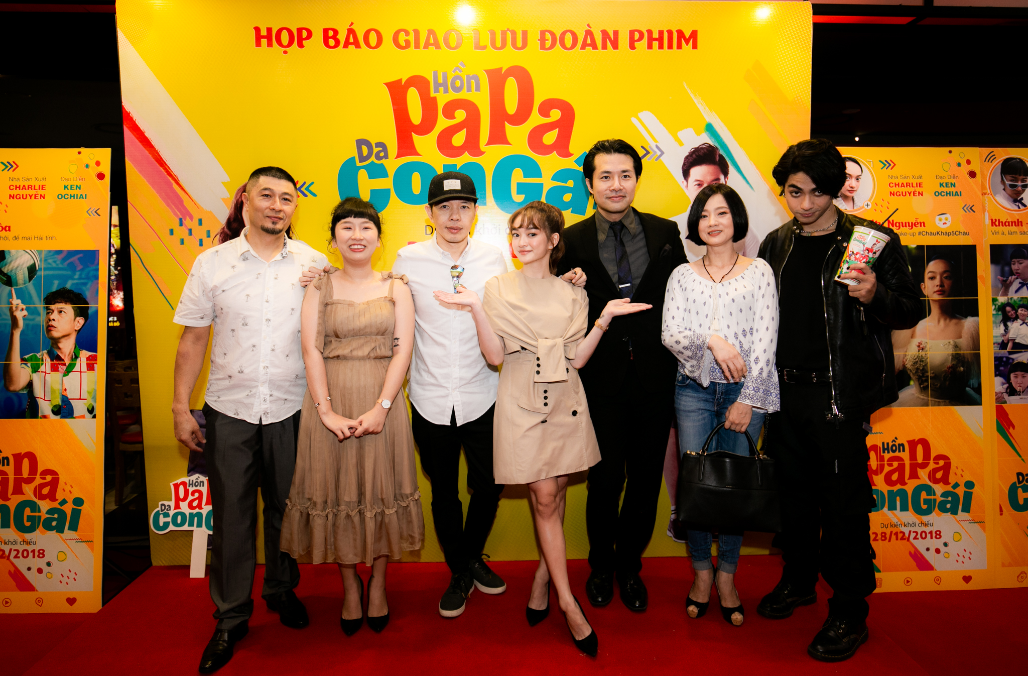 showcase giới thiệu Hồn Papa Da Con Gái 8