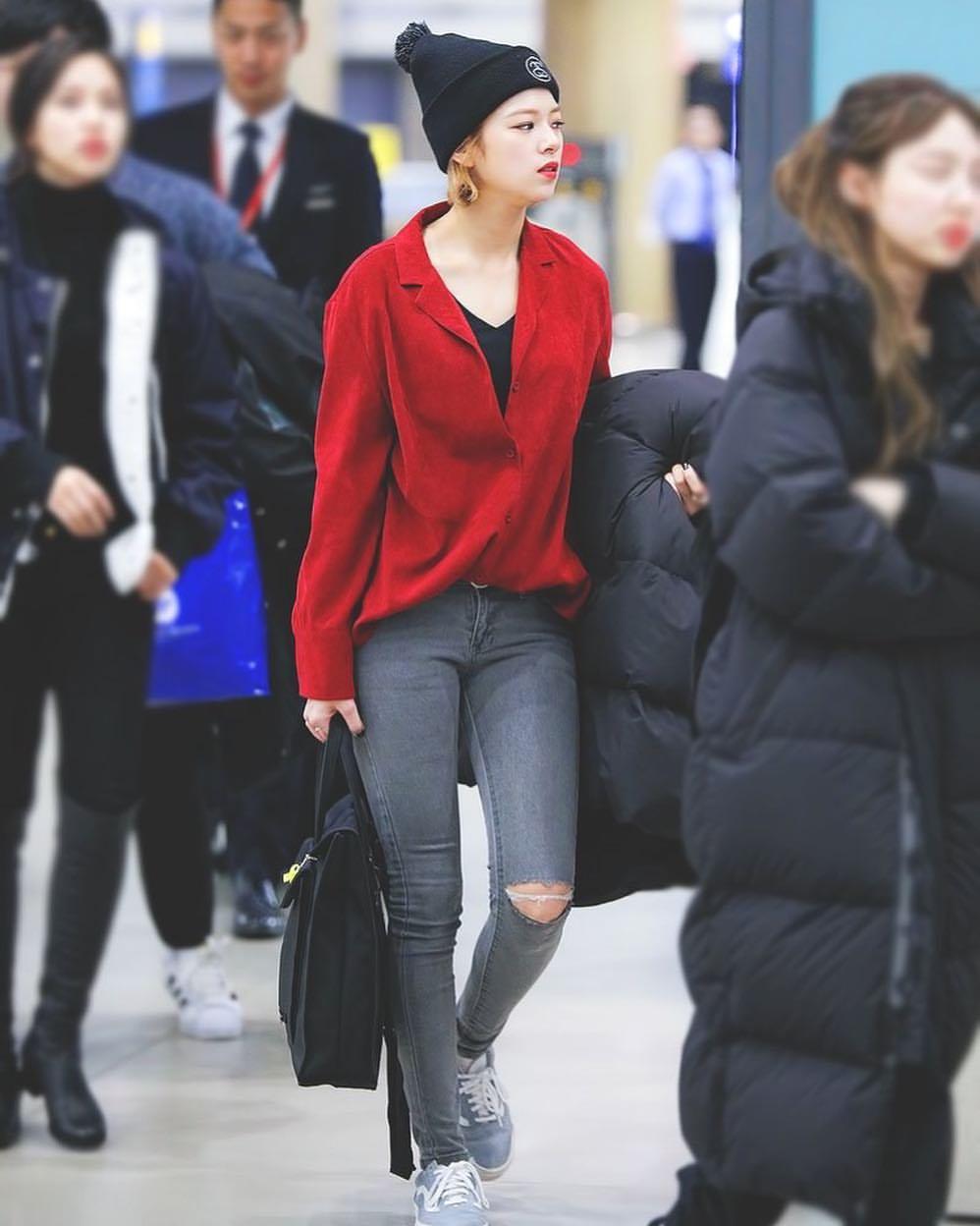 phong cách thời trang của Jungyeon 17
