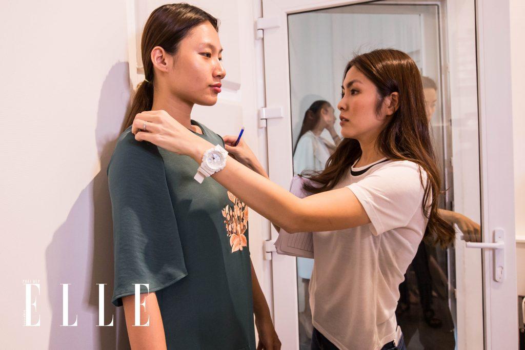 buổi fitting elle fashion runway show 2018 8