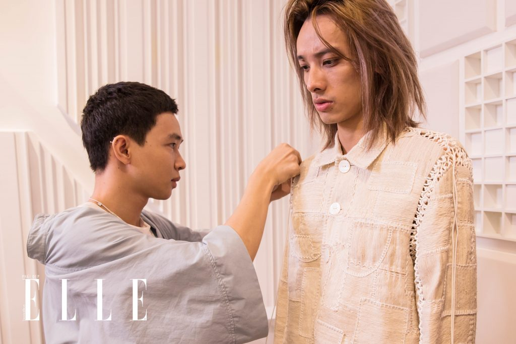 buổi fitting elle fashion runway show 2018 11