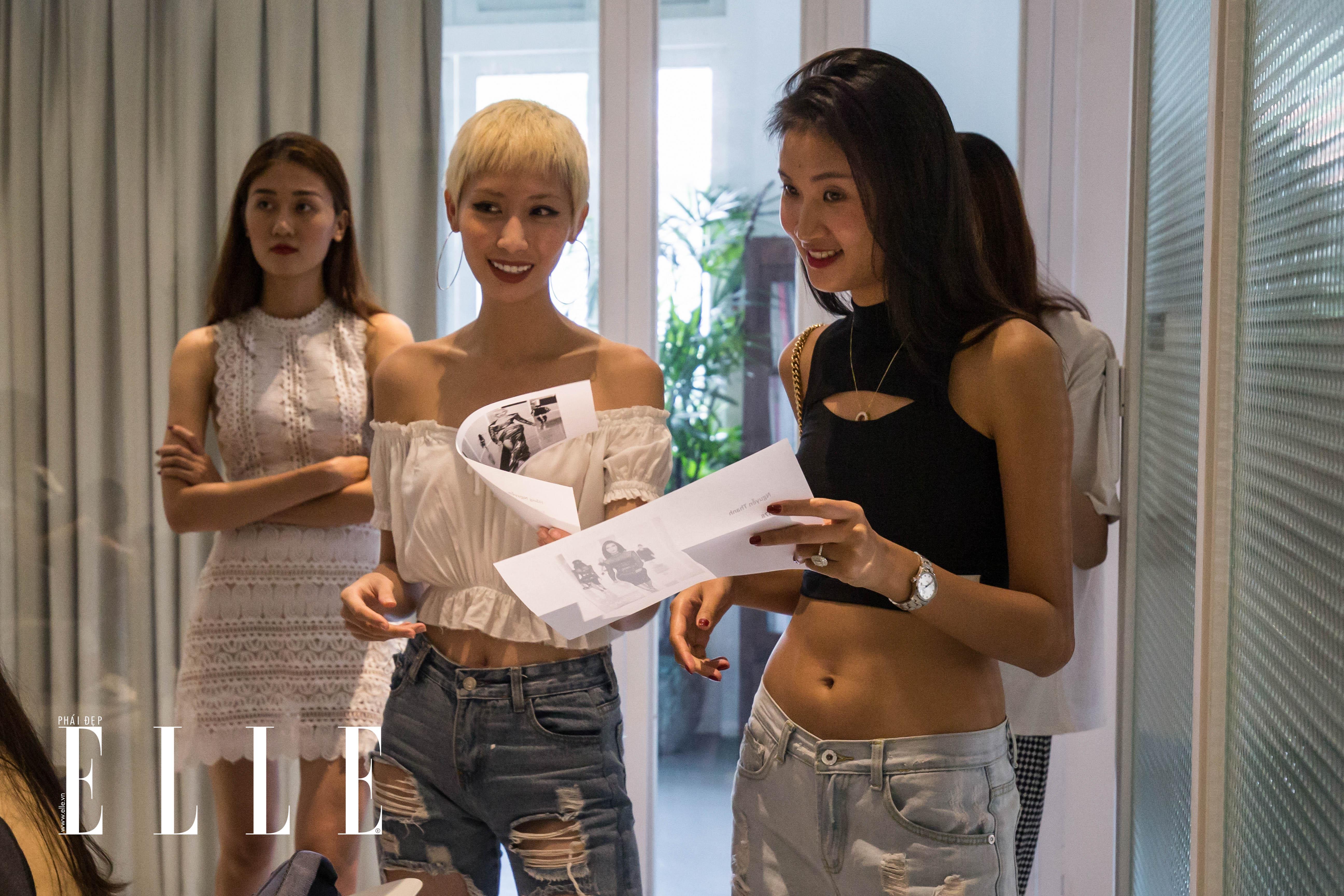 buổi fitting elle fashion runway show 2018 5