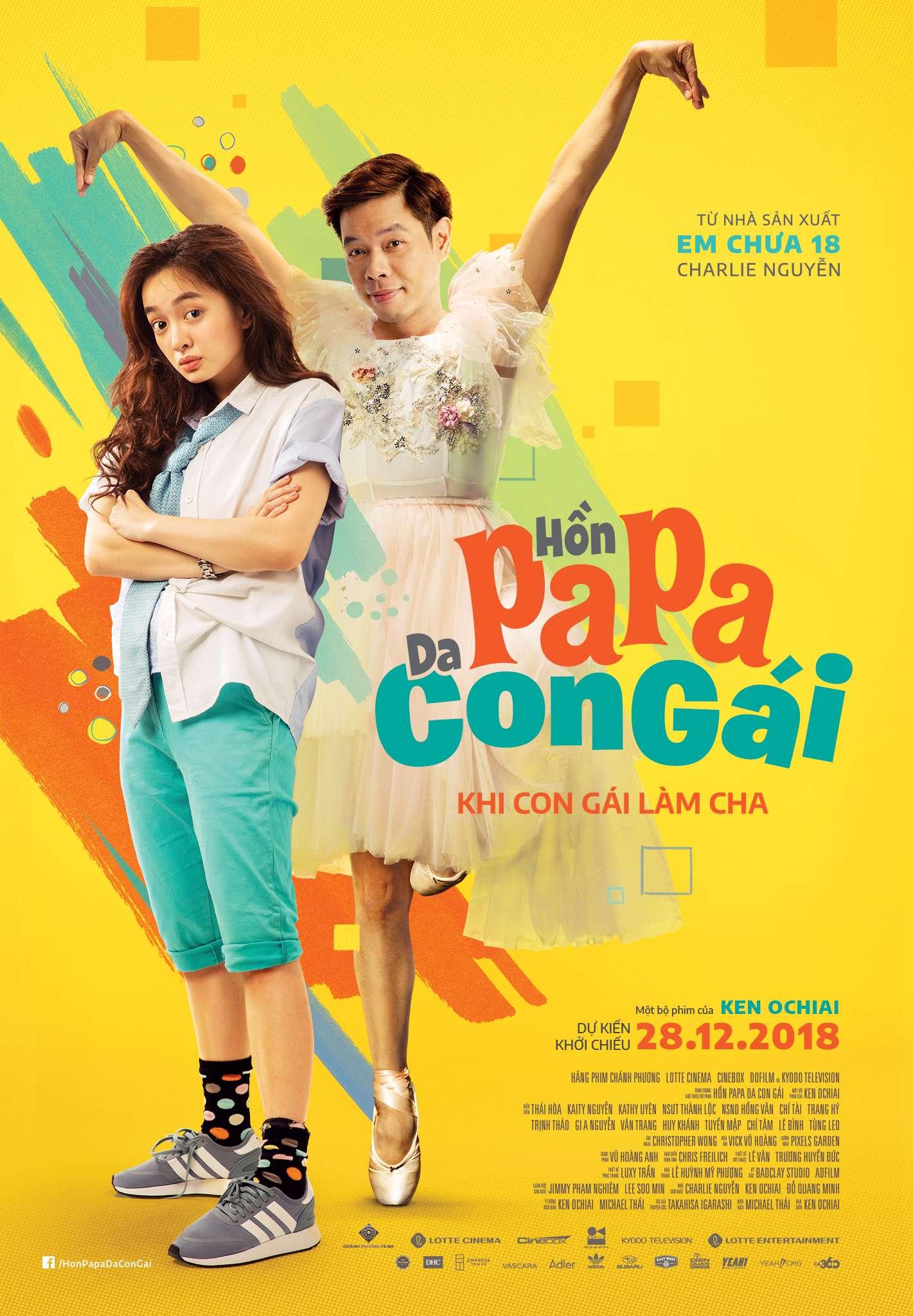 Trailer và poster chính thức của Hồn Papa Da Con Gái 9