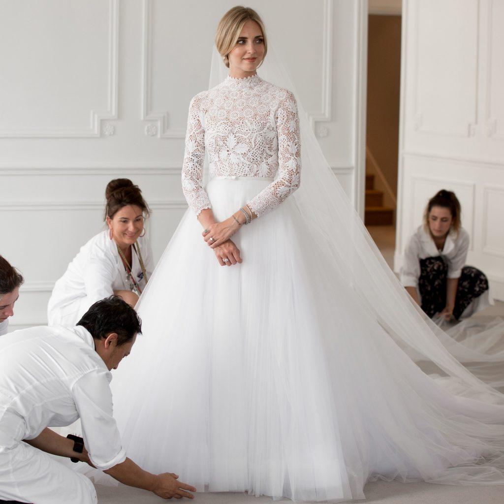 váy cưới đẹp của sao 2018 8