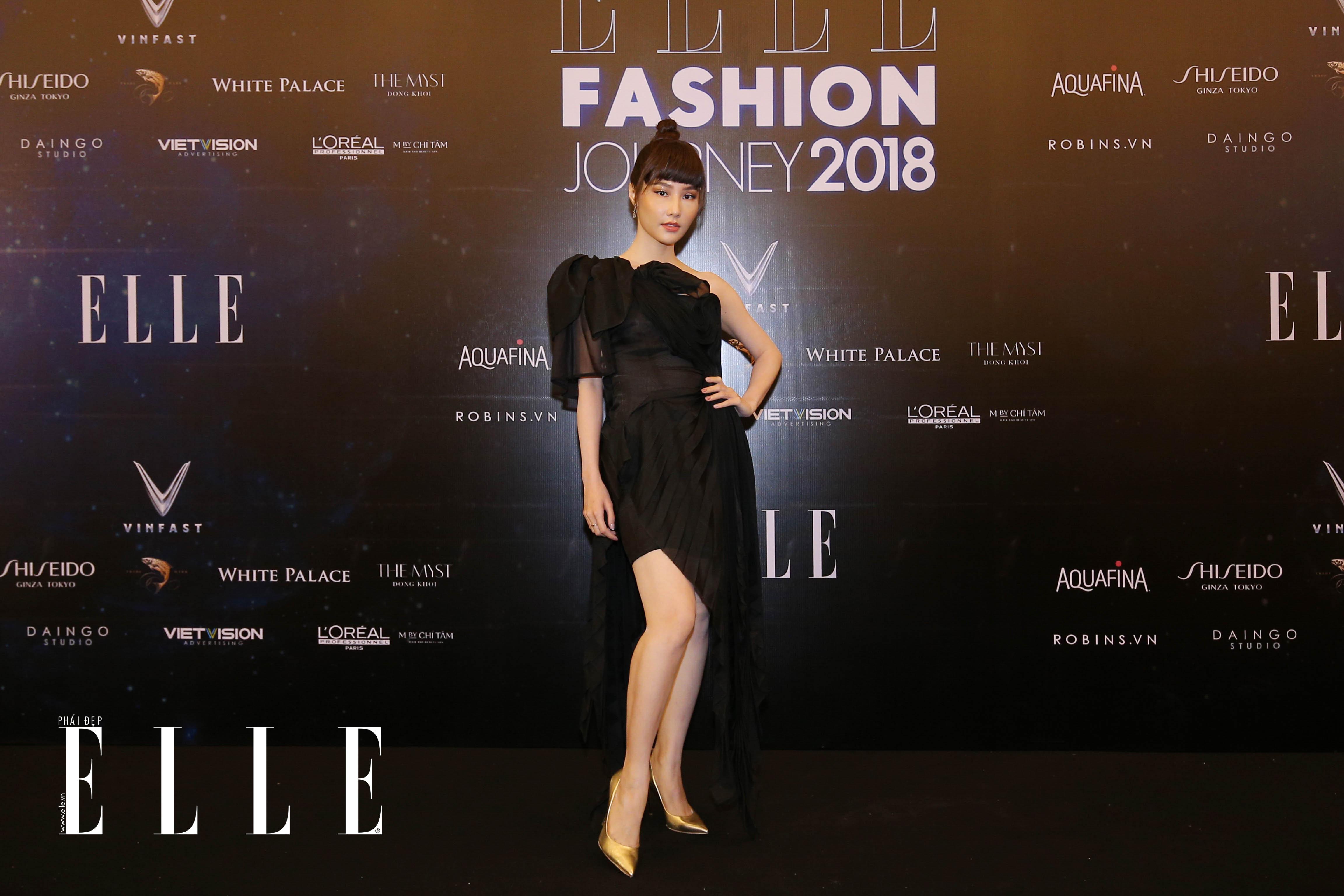 BL8Q5862 Mỹ Tâm, Thanh Hằng cùng dàn sao rạng rỡ trên thảm đỏ ELLE Fashion Journey 2018
