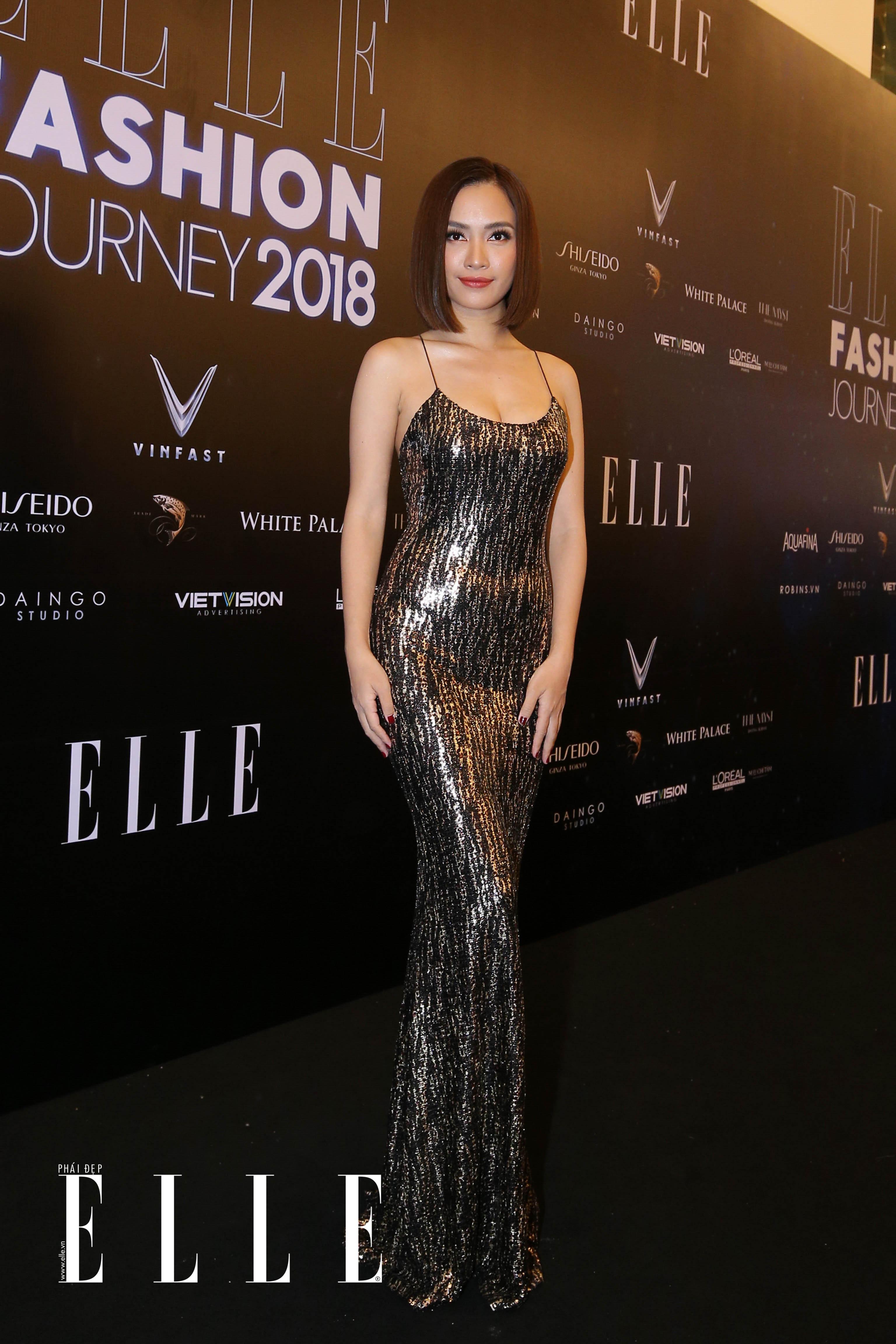 BL8Q6188 Mỹ Tâm, Thanh Hằng cùng dàn sao rạng rỡ trên thảm đỏ ELLE Fashion Journey 2018