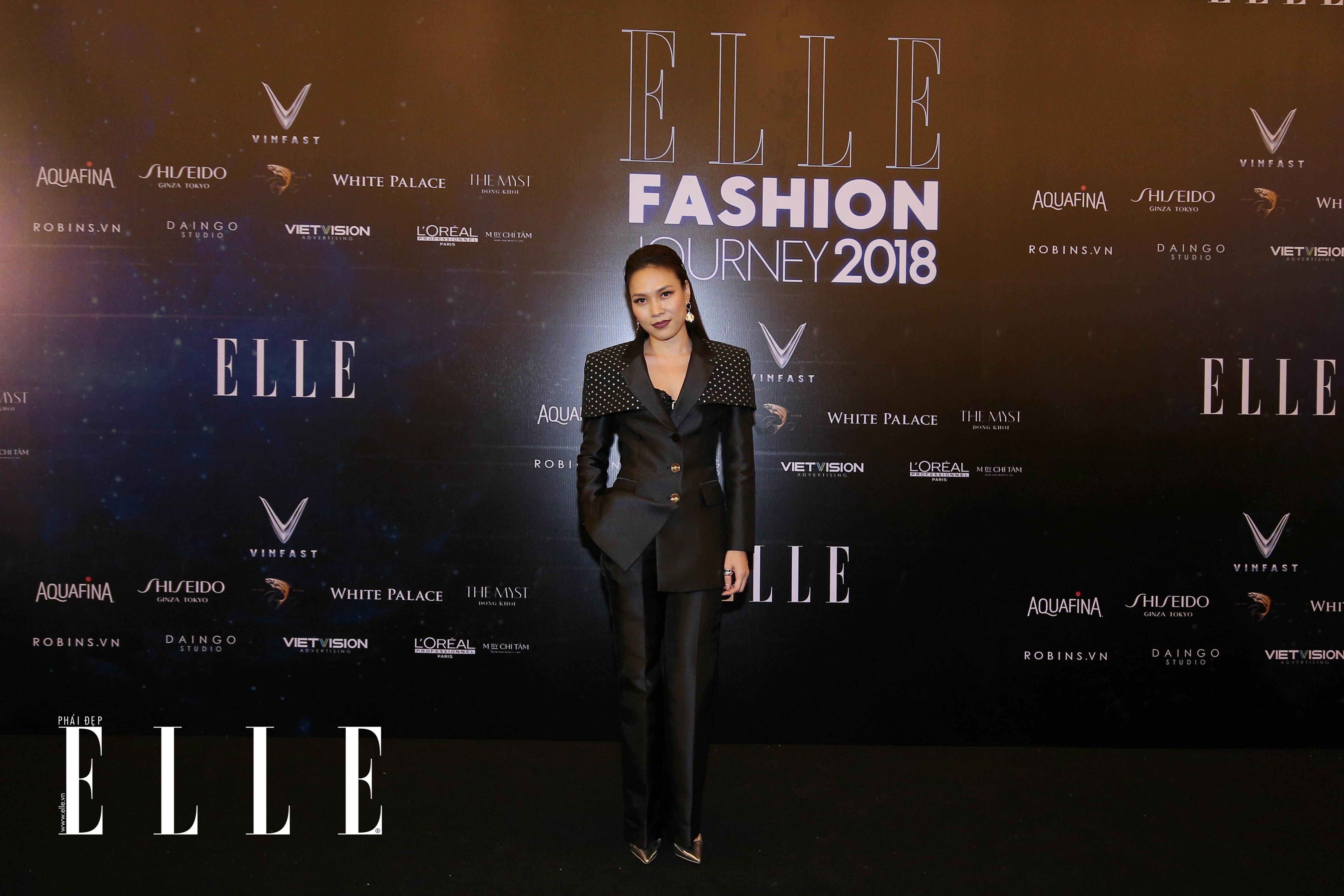 BL8Q6256 Mỹ Tâm, Thanh Hằng cùng dàn sao rạng rỡ trên thảm đỏ ELLE Fashion Journey 2018