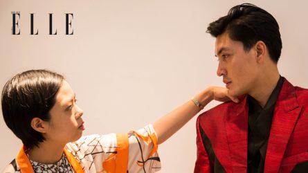 Quang Đại và dàn người mẫu chuyên nghiệp trình diễn tại ELLE Fashion Runway Show 2018