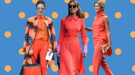 Bắt kịp xu hướng màu cam san hô bằng những bí quyết mặc đẹp đơn giản